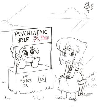 Everything's ok (sketch) by Daughter-of-Fantasy