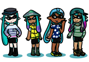 Team Teal! by ToonMidna1