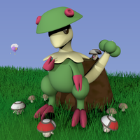 Breloom and the Foongus