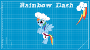 Rainbow Dash Design Clear by ikonradx