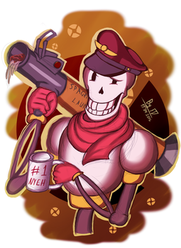 Papy Soldier by FluffyDus