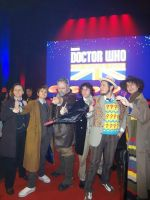 11th. 10th, War, 8th, 7th and 4th Doctors. by jeffduck