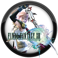 Final Fantasy XIII Icon v1 by andonovmarko