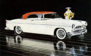 age of chrome and fins : 1955 Chrysler by Peterhoff3