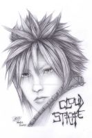 Final Fantasy - Cloud Strife by XenNa-Scarlet
