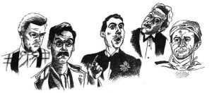 Monty Python characters 1 by IronOutlaw56
