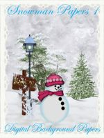 Snowman Papers 1 by kayshalady