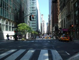 NYC Madison Avenue and East 41st Street by PaulRokicki