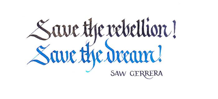 Saw Gerrera - Save the Rebellion by MShades