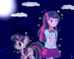 Twilight Sparkle 1/2 by perluchis
