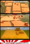 Wool Felt Wheatfields by Yari-Ashigaru