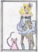 Alice and the cheshire cat by Lady-Fayble