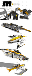Stryder Modularity's Mako: WIP Part 5 by Pixel-pencil