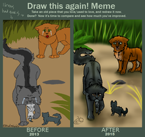 Draw This Again-meme by KakuroWolf