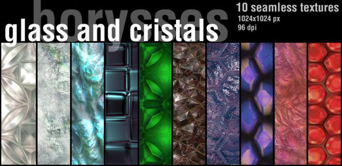 Glass and crystals by borysses