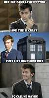 I'm the Doctor -- Call me Maybe by VampiricYoshi