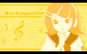 Rin Kagamine by janelvalle