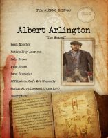 Albert Arlington Bio File1 by HexZombies