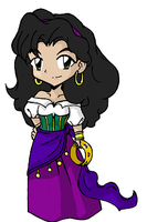 + Ezmeralda Chibi + by GuardianYashu