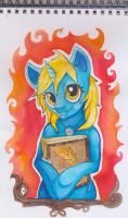 Blue Ink by CzBaterka