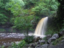 Wales waterfall by avalonmoon13