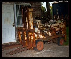 Rusty Fork Truck by boron