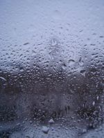 Stock: Wet Window by aTTes-Stock