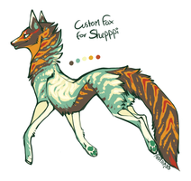 Custom fox for Shepppi by Hauket
