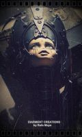 steampunk dark doll by Diarment