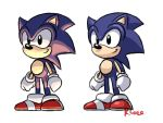 Sonic lighting doodle by rongs1234