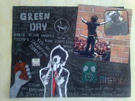 Green Day Poster by TiTbOoO