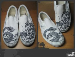 Customised Slip Ons 2 by injuryordeath