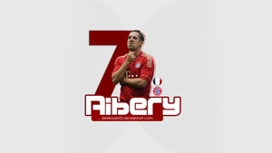 Franck Ribery Wallpaper by destroyer53