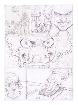 Sicotronica 2 pag 12 pencils by polacostyle
