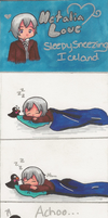 APH - Sleepy Sneezing Iceland by HayaMika