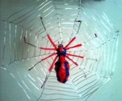 the spider from spiderman by TheWallProducciones