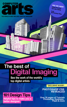 Computer Arts Magazine Cover by itswithaKAY