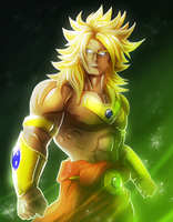 The Legendary Super Saiyan by Jonny5Alves