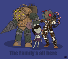 Bioshock Family by pikmin789
