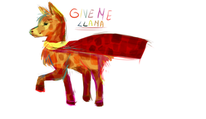 Give me llama by Nariette