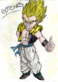 Gotenks by Mornie1