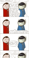 101 Ways to Make a Vulcan Laugh: 009 by TheVeggieSalad