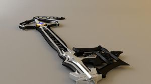 Oblivion Keyblade View 2 by tom55200