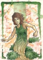 Juniper the Dryad by Miagola