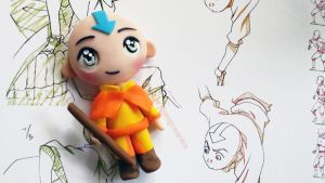 Chibi Aang (video tutorial) by NerdEcrafter