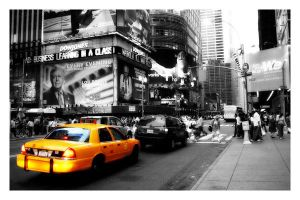 Big Yellow Taxi 2 by scottwills