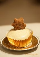 Cinnamon Marzipan Cupcakes by Cailleanne