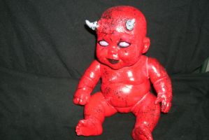 Reborn Demon Baby Doll by screaminmimi79