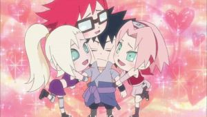 Sasuke and his girls (gif) by athinaantreou
