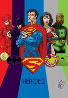 5 for Justice by JoeWillsArt